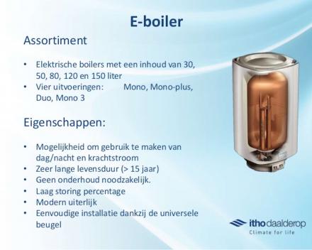 Plaatsen of vervangen sanitaire elektrische boiler 80L in regio Waasland, Antwerpen, Zeveneken, Wachtebeke, Gent, Kallo, Nieuwkerken, Haasdonk, Temse, Verrebroek, Kieldrecht