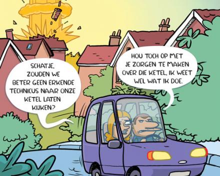 Onderhoud Verwarmingsketel Nieuwkerken-Waas (gasketel & mazoutketel)