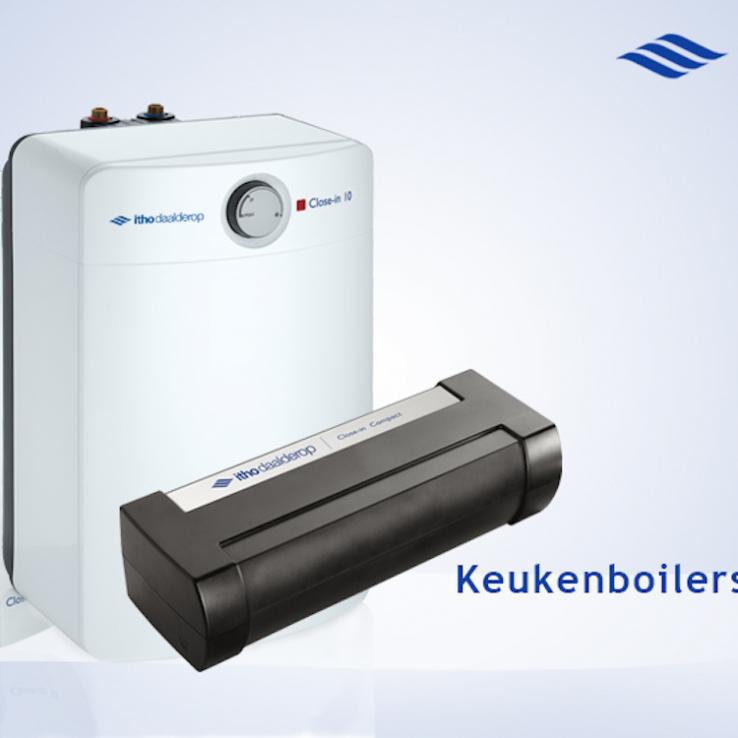 Plaatsen of vervangen keukenboiler in regio Waasland